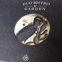 Foto diambil di Duo Bistro & Garden oleh Miriam G. pada 5/9/2015
