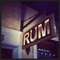 Photo taken at Rum Bar at The Breadfruit by Southern F. on 3/24/2013