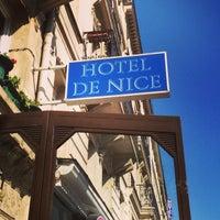 Foto tirada no(a) Hôtel de Nice por Santino S. em 4/25/2013