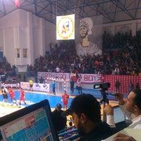 1/12/2014 tarihinde Aymen C.ziyaretçi tarafından Salle Omnisports d'Hammamet'de çekilen fotoğraf