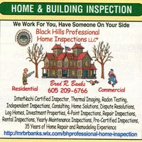 Photo Taken At Black Hills Professional Home Inspections Llc By