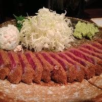 7/14/2013 tarihinde Michio H.ziyaretçi tarafından Gyukatsu Motomura'de çekilen fotoğraf