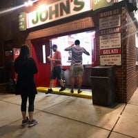 Photo taken at John's Water Ice by AMW on 8/5/2021