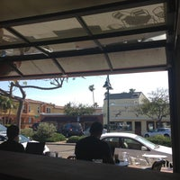 5/2/2013 tarihinde Anna K.ziyaretçi tarafından Bird Rock Coffee Roasters'de çekilen fotoğraf