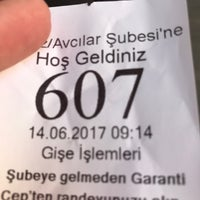 Photo prise au Garanti Bankası par Gülnur💞💞 S. le6/14/2017