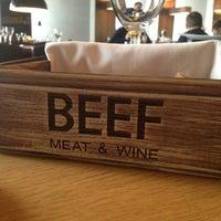 Снимок сделан в BEEF Мясо & Вино пользователем Sasha K. 4/11/2013