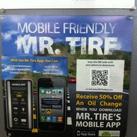 Photo Taken At Mr Tire Auto Service Centers By Thomas B On 9 6