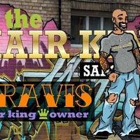 Снимок сделан в Hail The Hair King Salon & Spa пользователем Travis M. 8/14/2011