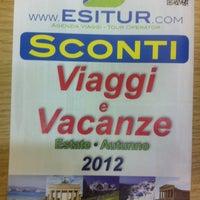 5/24/2012 tarihinde Daniele C.ziyaretçi tarafından Tour Operator Agenzia Viaggi Esitur'de çekilen fotoğraf