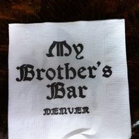 Foto scattata a My Brother's Bar da Mike N. il 6/8/2012