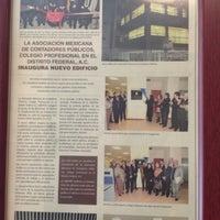 Foto tomada en Asociación Mexicana de Contadores Públicos por Bernardo R. el 8/2/2012