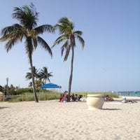 Photo Taken At Hollywood North Beach Park By Luis R On 7 29