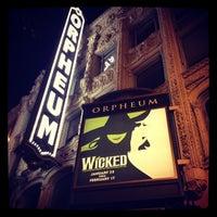 Foto scattata a SHN Orpheum Theatre da Betty D. il 2/15/2013