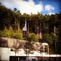 Das Foto wurde bei Hotel Zugbrücke Grenzau von Pedro P. am 8/18/2014 aufgenommen
