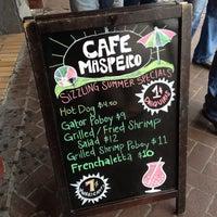 7/20/2013にLuis D.がCafe Masperoで撮った写真