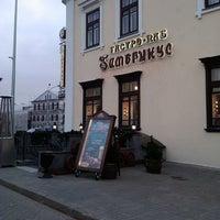 4/15/2013 tarihinde Ольга Е.ziyaretçi tarafından Гамбринус'de çekilen fotoğraf