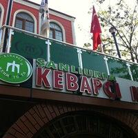 4/23/2013 tarihinde Seda B.ziyaretçi tarafından Mehmet Usta Kebap ve Ciğer Salonu'de çekilen fotoğraf