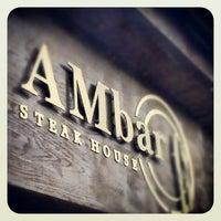 Снимок сделан в AMbar Steak House пользователем Al E. 3/14/2013