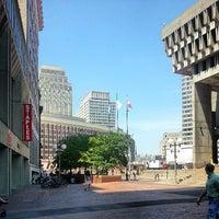 Снимок сделан в City Hall Plaza пользователем Marcus J. 7/19/2013
