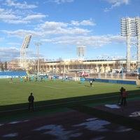Foto tirada no(a) Малая спортивная арена «Петровский» por Ivan S. em 4/20/2013