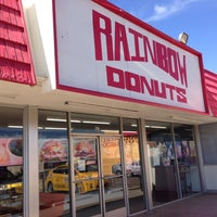 Photo taken at Rainbow Donuts by Casey S. on 5/21/2013