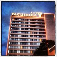 Снимок сделан в Гостиничный комплекс «Юбилейный» / Hotel Yubileiny пользователем Anton G. 6/29/2013