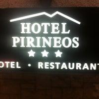 Das Foto wurde bei Hotel Pirineos von Manel M. am 1/26/2013 aufgenommen