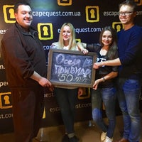 Foto scattata a Escape Quest da Настя ᶠᶸᶜᵏ ᵧₒᵤ К. il 4/16/2016