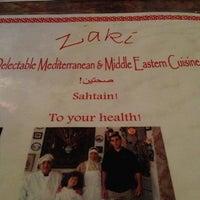 รูปภาพถ่ายที่ Zaki Kabob House โดย Laura M. เมื่อ 4/7/2013
