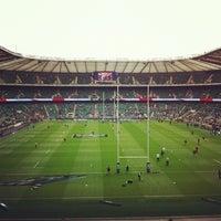 Das Foto wurde bei Twickenham Stadium von George H. am 11/10/2012 aufgenommen