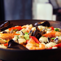 Foto tomada en Socarrat Paella Bar - Nolita por NYCRestaurant .. el 7/18/2014