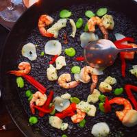 Foto tirada no(a) Socarrat Paella Bar - Nolita por NYCRestaurant .. em 7/18/2014