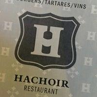 Photo prise au Le Hachoir par Marc le4/25/2013