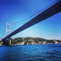 Photo prise au Boğaziçi Köprüsü par Bruno B. le6/20/2013
