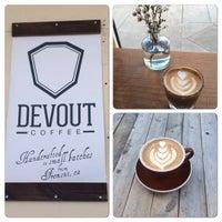 2/28/2015 tarihinde Donna D.ziyaretçi tarafından Devout Coffee'de çekilen fotoğraf