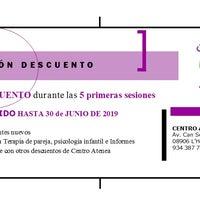 รูปภาพถ่ายที่ Centro Atenea Psicólogos en Hospitalet โดย Centro Atenea P. เมื่อ 9/27/2019