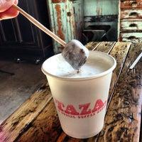 Снимок сделан в Taza. A social coffee house. пользователем Weezer M. 1/12/2013