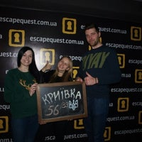 Foto scattata a Escape Quest da Ольга Д. il 2/23/2016