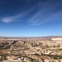 10/28/2018 tarihinde Meltem A.ziyaretçi tarafından Çavuşin Köyü Eski Kaya Cami'de çekilen fotoğraf