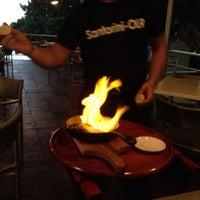 Снимок сделан в Santorini Ocean Lounge Restaurant пользователем Rebecca R. 10/21/2013