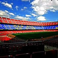 Foto tomada en Camp Nou por Rashed A. el 5/21/2013