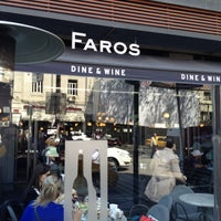 4/27/2013 tarihinde Fatih K.ziyaretçi tarafından Faros Restaurant'de çekilen fotoğraf