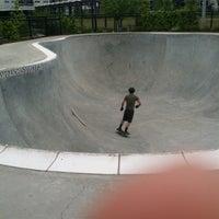Foto tomada en Historic Fourth Ward Skatepark por Connie K. el 5/10/2013
