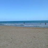 Photo Taken At Playa Hobbie Isla Verde By Yani C On 4 15