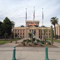 Photo taken at Arizona Capitol Museum by Erlie P. on 10/7/2014