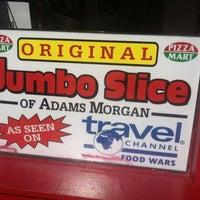 รูปภาพถ่ายที่ Jumbo Slice Pizza โดย Emmanuel B. เมื่อ 5/20/2013