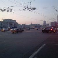 Снимок сделан в Большая Сухаревская площадь пользователем Александр К. 6/29/2013