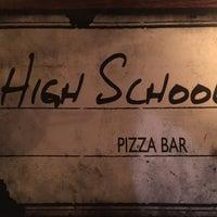 Снимок сделан в High School pizza bar пользователем John P. 6/3/2018