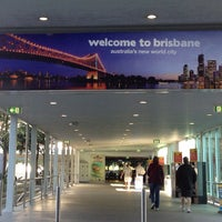 Снимок сделан в Brisbane Airport International Terminal пользователем Dave E. 10/11/2012