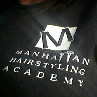 ... Photo taken at Manhattan Hairstyling Academy: Brandon by Melanie A. on 4/16 ...